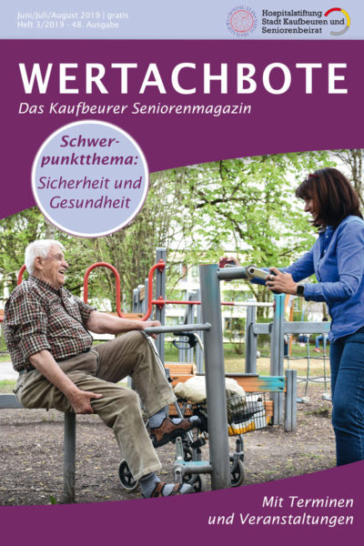 Wertachbote Das Kaufbeurer Seniorenmagazin